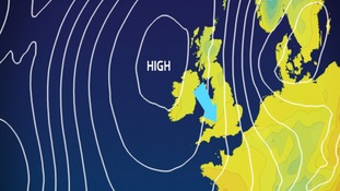 pressure chart for Thursday
