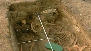 Archaeologists think the warrior lived around 500 AD