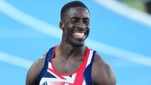Athlete Dwain Chambers