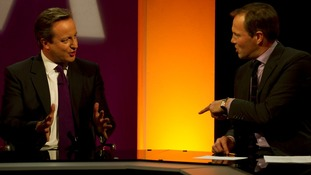 David Cameron joins Tom Bradby on the Agenda.
