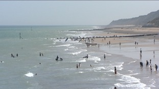 Cromer beach