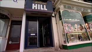 Front of William Hill shop