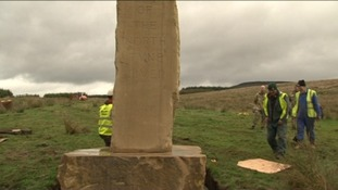Monument to source of North Tyne