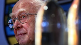 Britain's Peter Higgs wins Nobel Physics Prize