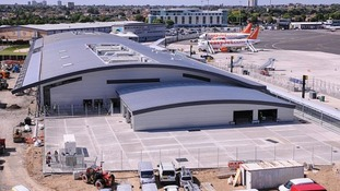 The new-look Southend Airport