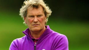 Glenn Hoddle seen earlier this year at a golf tournament