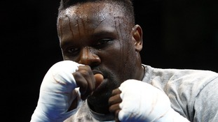 Heavyweight boxer Dereck Chisora.