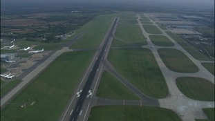 The main runway at Stansted