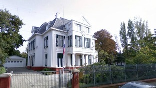 Russia's embassy in The Hague, Netherlands