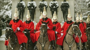 'Changing of the Queen's Life Guard' by Sgt Adrian Harlen RLC