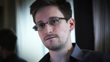 File photo of Edward Snowden