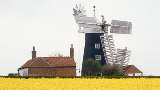 North Leverton Windmill in Retford is among those landmarks off the 'at risk' register
