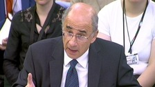 Sir Brian Leveson gives evidence to a Culture, Media and Sport Select Committee on press regulation