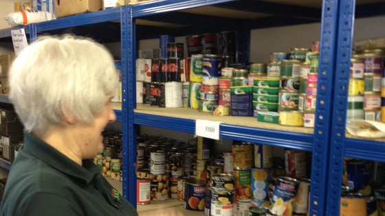 Food bank in Cockermouth