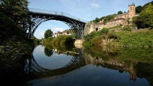Ironbridge Gorge is a World Heritage site