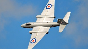 An English Electric Canberra XH134 will be taking part in the show