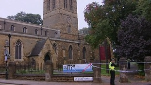 St Giles church in Northampton