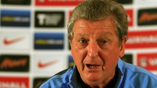 England Manager, Roy Hodgson seen during the press conference today
