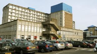 Ealing Hospital in West London