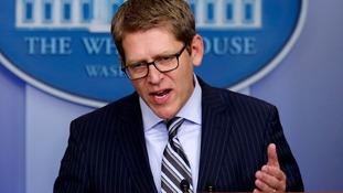 White House press secretary Jay Carney.