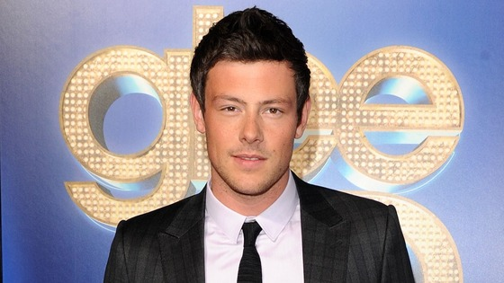 Glee actor Cory Monteith, who died in July after mixing champagne and heroin.