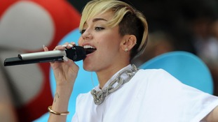 Miley Cyrus had YouTube's most popular channel in September