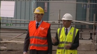 Deputy leader Nick Clegg during a visit to DUCO Ltd in Walker.