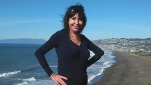 Lynne Spalding, 57, was found in a stairwell at a hospital in San Francisco.
