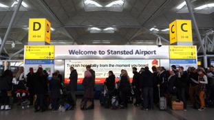 There are reports of a security alert unfolding at Stansted Airport this evening.