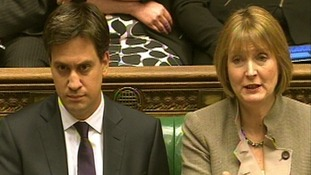 Ed Miliband and Harriet Harman