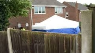 The remains of two people found in garden of Mansfield house