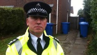 Inspector Mark Webster, Nottinghamshire Police