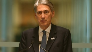 Philip Hammond has defended  MoD spending.