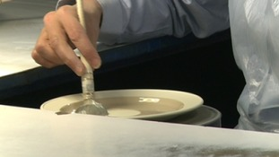 Pottery factory opens up to public for anniversary