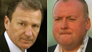 Lord O'Donnell and (left) Damian McBride.