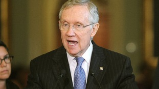 US Senate Democratic leader Harry Reid.