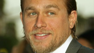British actor Charlie Hunnam.