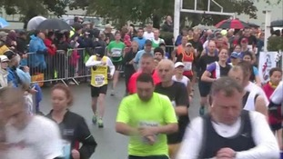 Runners set off on the Great East Run