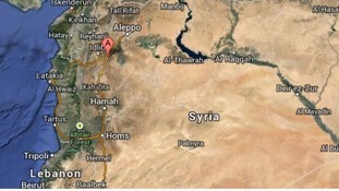 Gunmen kidnapped the Red Cross workers near the town of Saraqeb in Idlib province.