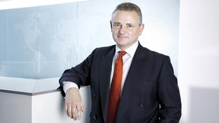 Aviva Group Chief Executive Andrew Moss, who is to step down with immediate effect