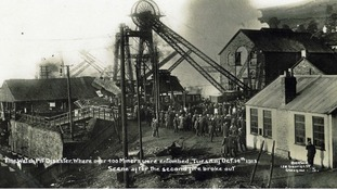 In pictures: Senghenydd mining disaster