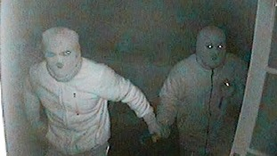 Police have released CCTV images of the burglars
