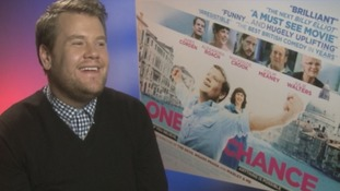 James Corden on his new film One Chance, the Paul Potts story.