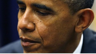 US President Barack Obama was due to meet congressional leaders later today.