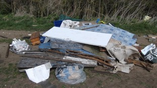 Fly-tipping in East Lindsey