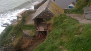 Landslip Latest: Engineers to inspect homes on cliff edge in South Devon