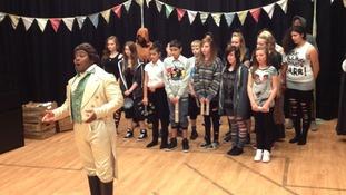 Pupils at Excelsior Academy