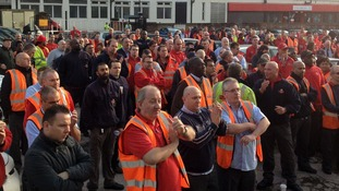 Communication Workers Union (CWU) members at the Mount Pleasant Royal Mail site have a mass meeting this morning.