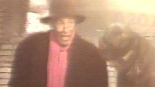 Alvin Ricketts caught on CCTV in Soho
