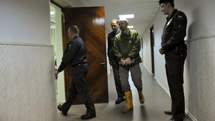 Bail hearing for Greenpeace activist Frank Hewetson.